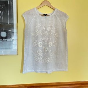 MNG jeans whits top size L
